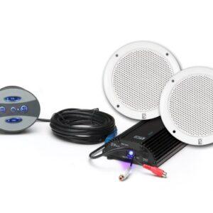 ME60BT Bluetooth wireless marine grade amplifier with