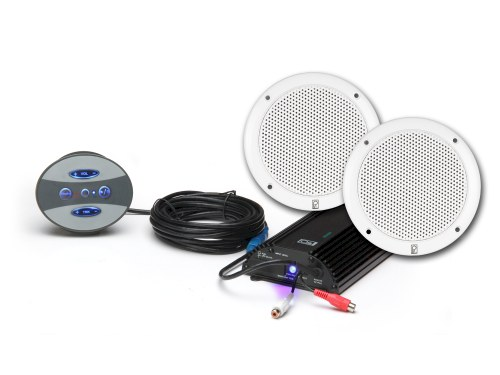BT-KIT10-W - Bluetooth Amplifier with White 10 Inch Performance speaker