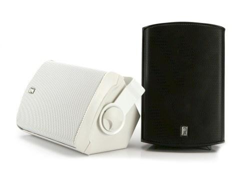 Poly Planar Ma7500b Compact Box Speaker 7 11 16 in Pair Black